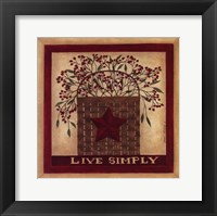Framed Live Simply