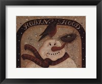 Framed Robin Hood Snowman