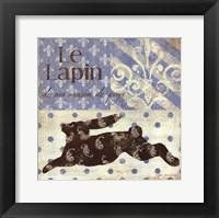 Le Lapin Framed Print