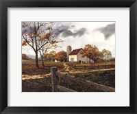 Framed Autumn Cascade - Autumn Barn