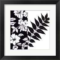 Black And White I Framed Print