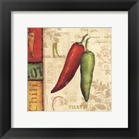 Framed Hot & Spicy I