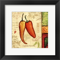 Framed Hot & Spicy II