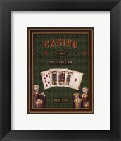 Texas Hold 'Em - mini Framed Print