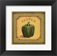 Pepper - mini Framed Print