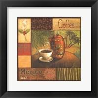Pause Caf I Framed Print