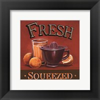 Fresh Squeezed - Mini Framed Print