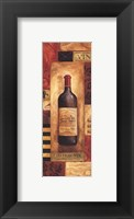 Chateau Vin Panel - petite Framed Print