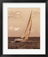 Weekend Sail I Framed Print