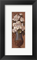 Courtly Roses II - petite Framed Print
