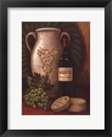 Framed Fresco Vineyard I