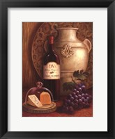 Fresco Vineyard II Framed Print