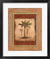 Framed Palm Botanical Study I - mini