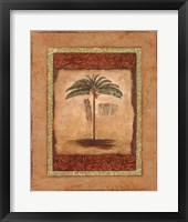 Framed Palm Botanical Study II - mini