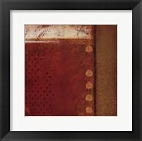 Spice Field II Framed Print