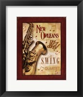 New Orleans Jazz II Framed Print