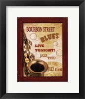 New Orleans Jazz III Framed Print