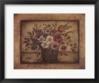 Paris Bouquet I Framed Print