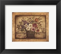 Paris Bouquet I - mini Framed Print