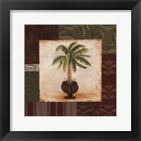 Framed Potted Palm I