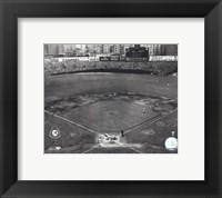 Framed Yankee Stadium Game four of the 1950 World Series