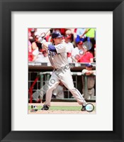 Framed Khalil Greene 2008 Batting Action