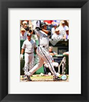 Framed Ken Griffey Jr. 2008 Batting Action