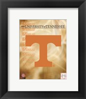 Framed 2008 University of Tennessee Logo