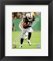 Framed Javon Walker 2008 Action
