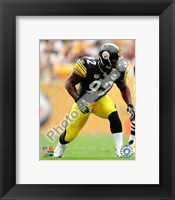Framed James Harrison 2008 Action
