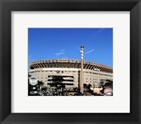 Framed Yankee Stadium Outside Final Game September 21, 2008