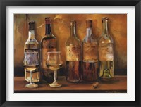 Cellar Whites Framed Print