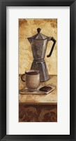 International Coffee II Framed Print
