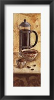 International Coffee III Framed Print