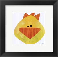 Framed Yellow Duck