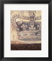 Framed Regal Crown II