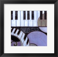 Cool Jazz III Framed Print