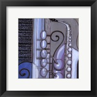 Cool Jazz IV Framed Print