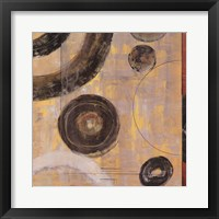 Rotation I Framed Print