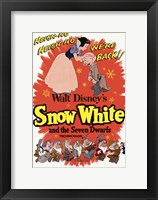 Framed Snow White and the Seven Dwarfs Heigh-Ho!