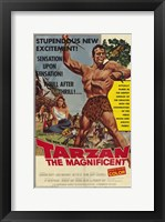Framed Tarzan the Magnificent, c.1960