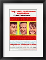 Framed Great Race movie poster