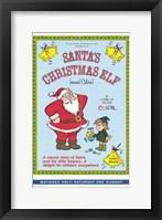 Framed Santa's Christmas Elf (Named Calvin)