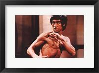 Framed Enter the Dragon Karate Action