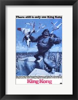 Framed King Kong There is Still Only One King Kong