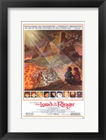 Framed Lord of the Rings, animated - style E