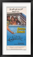 Framed Cheech and Chong's Up in Smoke Cheech Marin