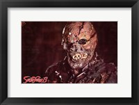 Framed Friday the 13th Jason Vorhees without Mask