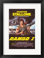 Framed Rambo I: First Blood with Stallone