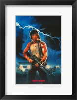 Framed Rambo: First Blood Painting